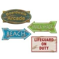 Beach Sign Cutouts