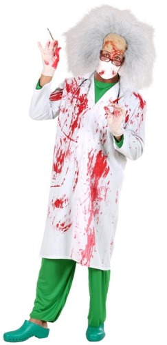 Bloody Doctors Lab Coat