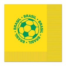 Brazil Football Napkins