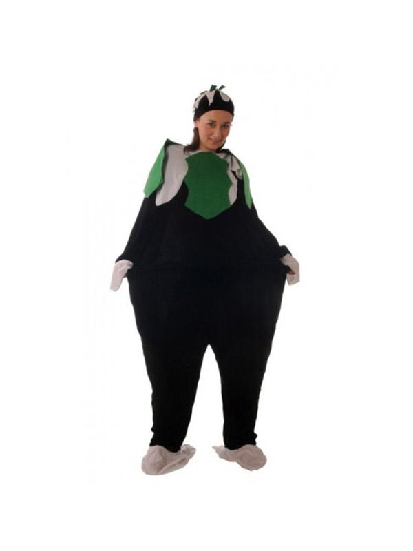 Fat Christmas Pudding Costume