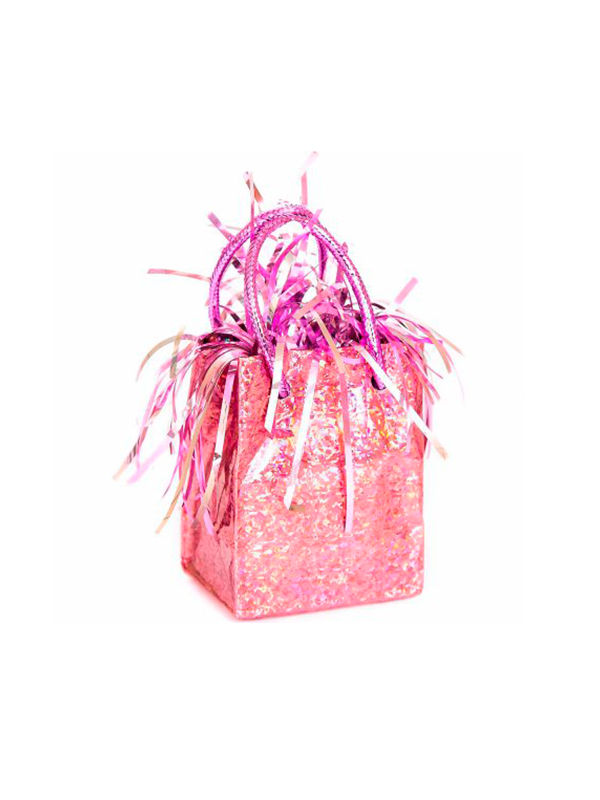 Balloon Weight Mini Handbag Pink Prism