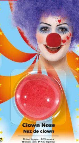 Nose Red Clown Sponge