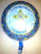Foil Balloon 'COMMUNION CELEBRATION'