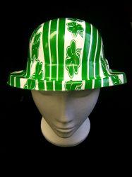 Shamrock Plastic Bowler Hat