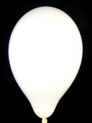 """Balloons Standard 12"""" White"""