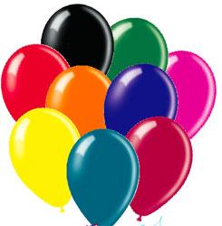 "Balloons Metallic 12"" Assorted Colours"