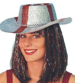 Glitter Cowboy Hat St. George's/England