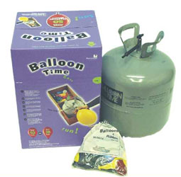 Helium Tank - Not supplied with balloons