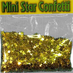 Confetti Gold Mini Stars Buy 1 get the other Free (2 x bag 84g)