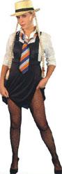 Schoolgirl Sexy Pinafore Dress (12345)