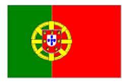Portugal/Portuguese Flag 5ft x 3ft  (100% Polyester)Eyelets For Hanging