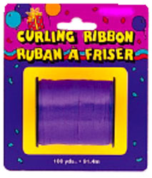 Curling Ribbon For Balloons Purple Small Roll
