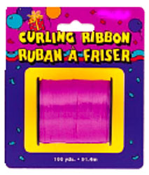 Curling Ribbon For Balloons Hot Pink Small Roll