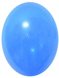 "Balloons Standard 12"" Mid Blue"