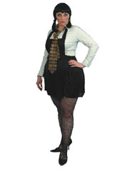 Schoolgirl Sexy XL Pinafore Dress (12345)