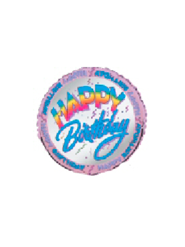 Foil Balloon HAPPY BIRTHDAY
