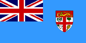 Fiji Flag 5ft x 3ft  With Eyelets For Hanging