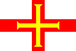 Guernsey Flag 5ft x 3ft With Eyelets For Hanging