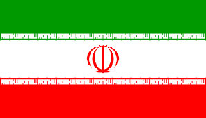 Iranian Flag 5ft x 3ft With Eyelets For Hanging