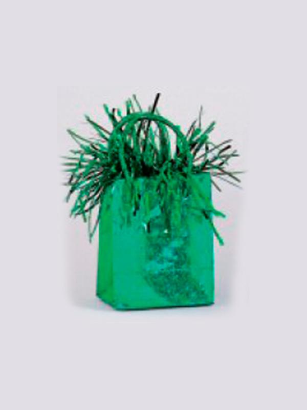 Balloon Weight Mini Handbag Green