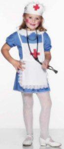 Child's Nurse Blue Costume