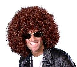 Mega Huge Afro Wig (Brown)