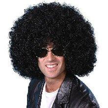 Mega Huge Afro Wig (Black)