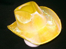 Cowboy Hat - Gold