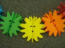Decoration 'Happy Sun' Assorted Colour Garland  (1)