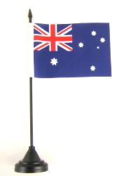 Australia Table Flag with Base and Stick