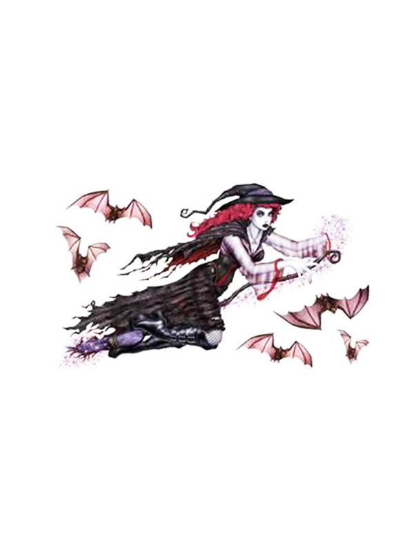 Gothic Witch Peel 'N' Place