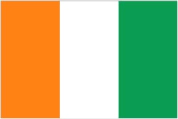 Cote D'Ivoire Ivory Coast Flag 5ft x 3ft  With Eyelets For Hanging