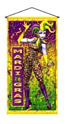 Mardi Gras Hanging Door/Wall Panel