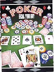 Poker Invitations - 8/pkg