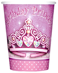 Birthday Princess Party Cups.