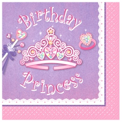 Birthday Princess Party Loot Bags