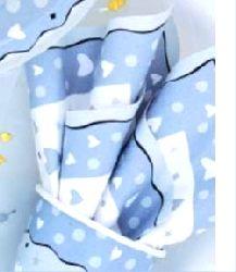 "Wedding Bells Party Plastic Leak-Proof Tablecloth - Size 54"" x 96""."