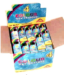 Crayon Wax 4 PCS