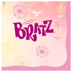 Bratz Fashion Party Napkins