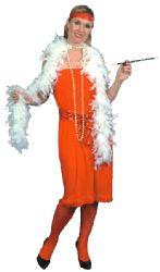 Feather Boa Peach (6ft)