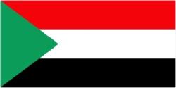 Sudan Flag 5ft x 3ft