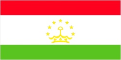 Tajikistan Flag 5ft x 3ft With Eyelets