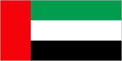 United Arab Emirates 5ft x 3ft Flag