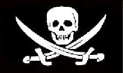 Jack Rackham Pirate Flag 5ft x 3ft