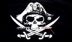 Deadmans Chest Pirate Flag 5ft x 3ft