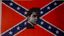 Rebel Elvis Flag 5ft x 3ft