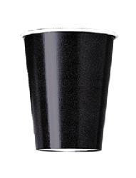 Black 9oz Paper Cup (PK 8)