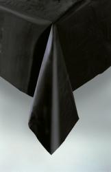 Black Plastic Tablecloth 1.37m x 2.74m