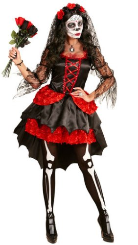 Deluxe Day of the Dead Ladies Costume