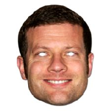 Dermot O'Leary Face Mask